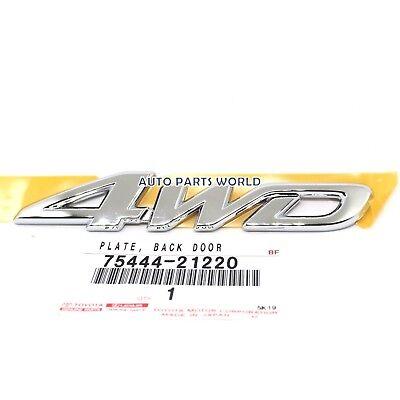 Toyota Tundra 2000-2004 Chrome Emblem Door Name Plate Genuine OEM OE