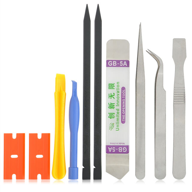 10 in1 Mobile Repair Opening Tools Kit Set Pry Screwdriver For Cell Phone iPhone