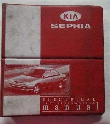 1998 1999 KIA SEPHIA Service Manual OEM