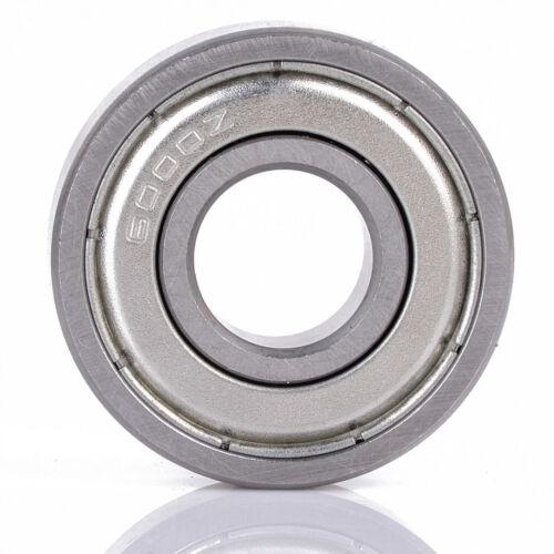 10 X 6000-z Cuscinetto A Sfere A Gola Profonda 10mm Od 26mm Deep Groove Ball