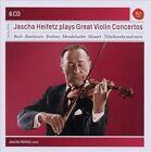 Jascha Heifetz Plays Great Violin Concertos (CD, Nov-2010, Sony Classical)