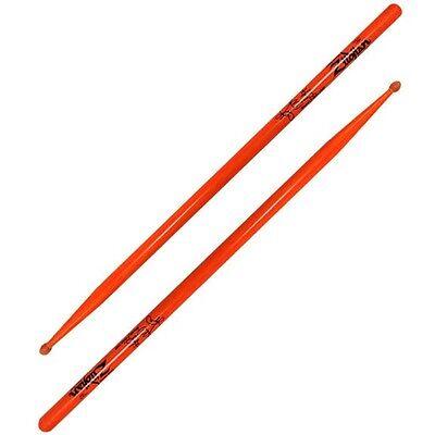 6 Pair Zildjian Ronald Bruner Orange Drumsticks FREE U.S. Ship Temptations ASRB