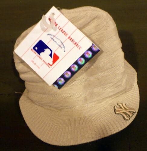 NY Yankees Major League Baseball Winter Hat Cap NWT 1 SIZE  to age 4 100/%+CUTE!