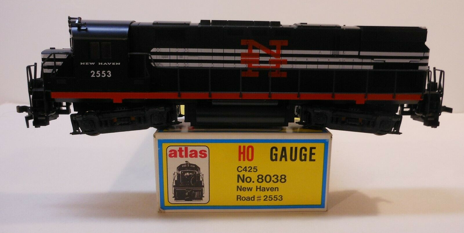 Atlas Kato HO C425 New Haven   2553 Diesel Locomotive LN