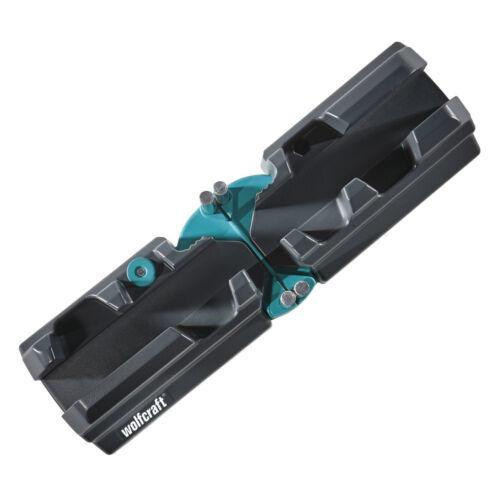 WOLFCRAFT Mitre Saw /& Bevel Wood Cutting Angle Measure Block//Box 6948 000