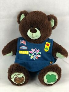New W Tags Build A Bear Girl Scouts Thin Mint