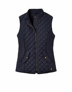 Joules-Minx-Womens-Quilted-Gilet-Colour-Marine-Navy