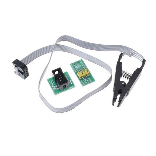 SOIC8 SOP8 Testclip für EEPROM 93CXX 24CXX In-Circuit ProgrammingO.wy 25CXX