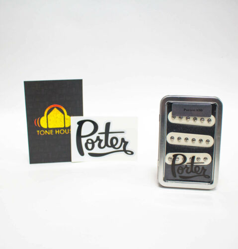 Porter Pickups S90 Strat Pickup Single Coil Set Of Three for Electric Guitar
