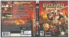 Overlord Raising Hell PS3 NEW! EVIL KILL, MINIONS, SMASH, DESTROY, KILL, DEMONS