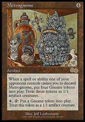 MTG 4x METROGNOME Urza/'s Saga *Rare Artifact DEUTSCH*