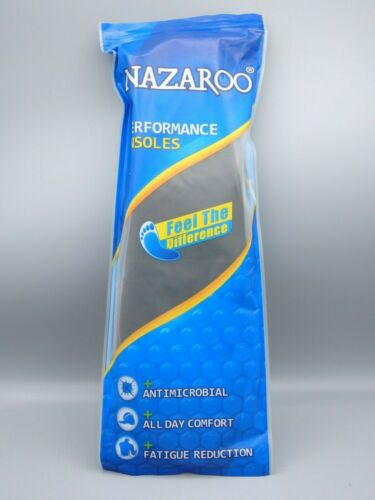 Details about  /Nazaroo Orthotic Performance Shoe Insoles Inserts Men/'s 13-13.5 One Pair NEW