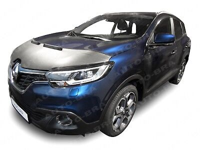 Bonnet Bra Bonnet Bra for Kadjar from 2015 Stone Guard Carbon Look