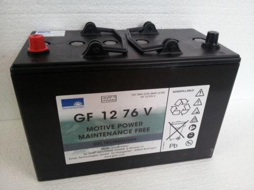 Sonnenschein Gel Batterie Dryfit GF 12 70 V 12V 79 Ah (C20h)