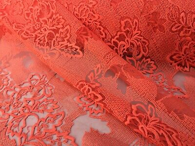 sewing dress fabric per metre /'Tullin A' Embroidered French Lace french