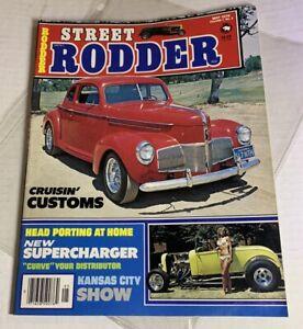 MAY 1978 STREET RODDER MAGAZINE CRUISIN' CUSTOMS STUDEBAKER SLEEVED ISSUE