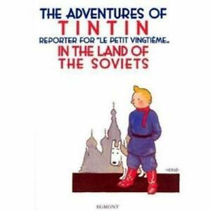 The-Adventures-of-Tintin-in-the-Land-of-the-Soviets-by-Herge-NEW-Book-FREE-amp-F