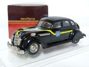 Rextoys-26-1-43-1935-Chrysler-Airflow-Indiana-State-Police-Diecast-Model-Car