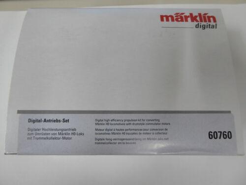 Märklin 60760 Digital-Antriebs-Set Trommel-Kollektor Motor und Decoder Neuware