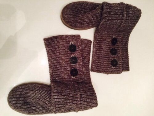 Boots Knitted Ugg Grey Ugg Grey Grey Boots Knitted Eq6q5r