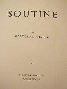 Soutine-par-Waldemar-George-Collection-Levy-1-8-Mourlot-1966
