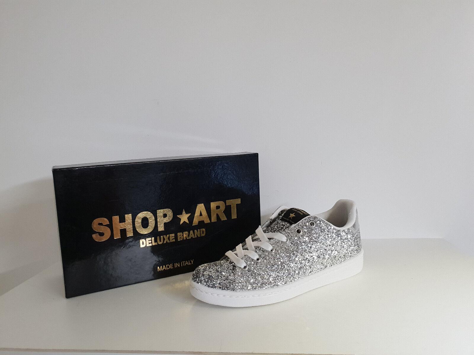 Comprare arte donna Zapatilas De Deporte  Descuuento 50% ART.SA 8044 Col. argento  stile classico