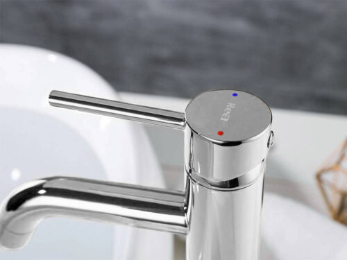 Wasserhahn Einhandmischer Bad Messing verchromt Rea LUNGO HIGH CHROM