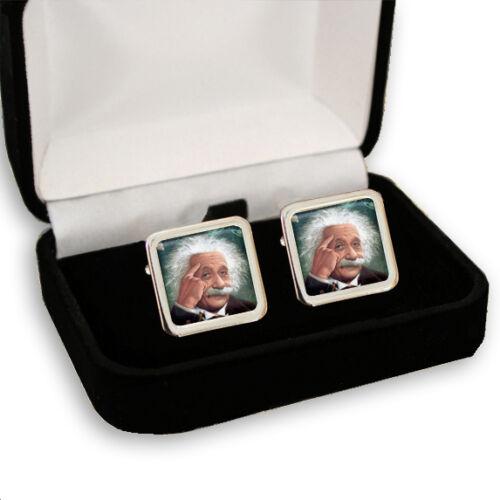 Físico teórico Albert Einstein Hombre Gemelos grabado Caja De Regalo