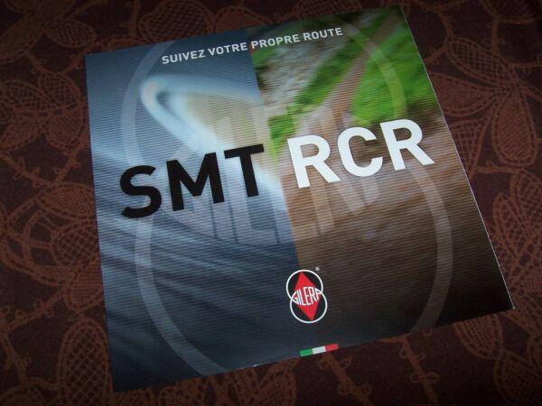 Briljant Prospectus / Brochure Gilera Smt & Rcr 2011 //