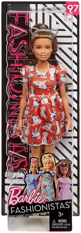 Barbie  modaista Bambola guarda Meow mix Mattel FJF57 che conduce tuta solo  vendita scontata