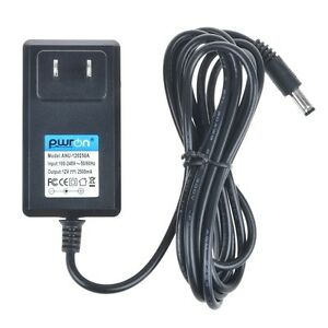 PwrON AC-DC Power Supply Adapter Charger 12V 2.5A 2500mA 5.5/2.5mm 5.5*2.5mm
