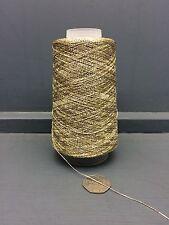 100 GRAM CONE FINE 19.2NM LUREX YARN GOLD APPROX 1920M