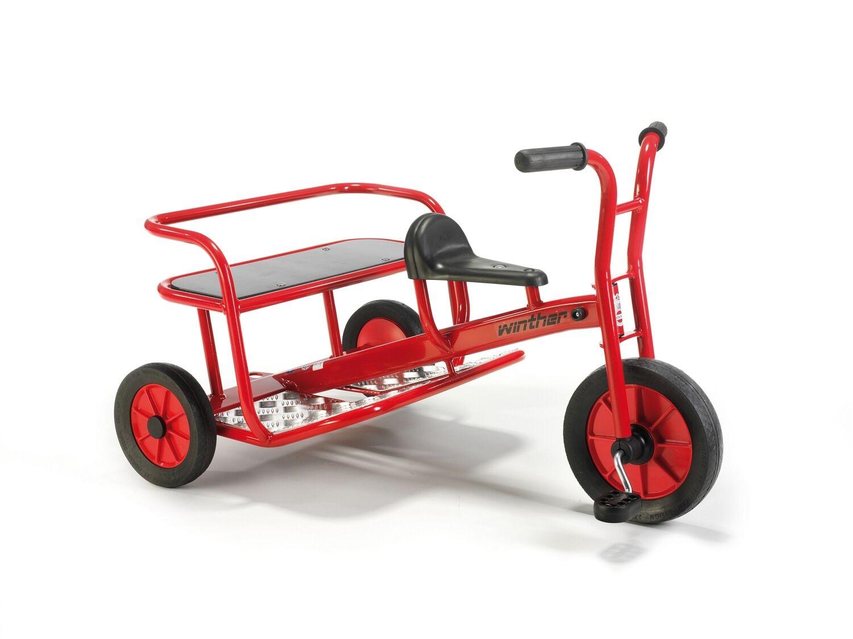 Winther Doppeltaxi, Dreirad, Fahrzeug für Kinder  4-8 Jahre