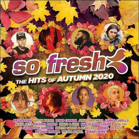 So Fresh The Hits of Autumn 2020 Various Artists CD NEW