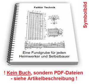 Details zu Falttür selbst bauen - Harmonikatür Faltschiebetür faltbare Tür  Technik Patente
