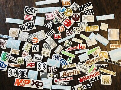 SHOTGUN WAFFE GEWEHR usw 15 Restposten /& Zweite Qualität Aufkleber Stickers