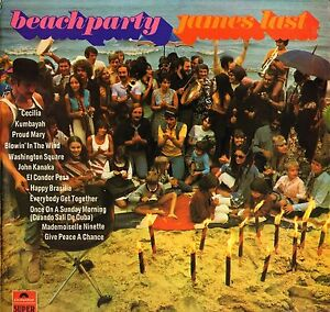 Image Is Loading James Last Beach Party   Uk Polydor