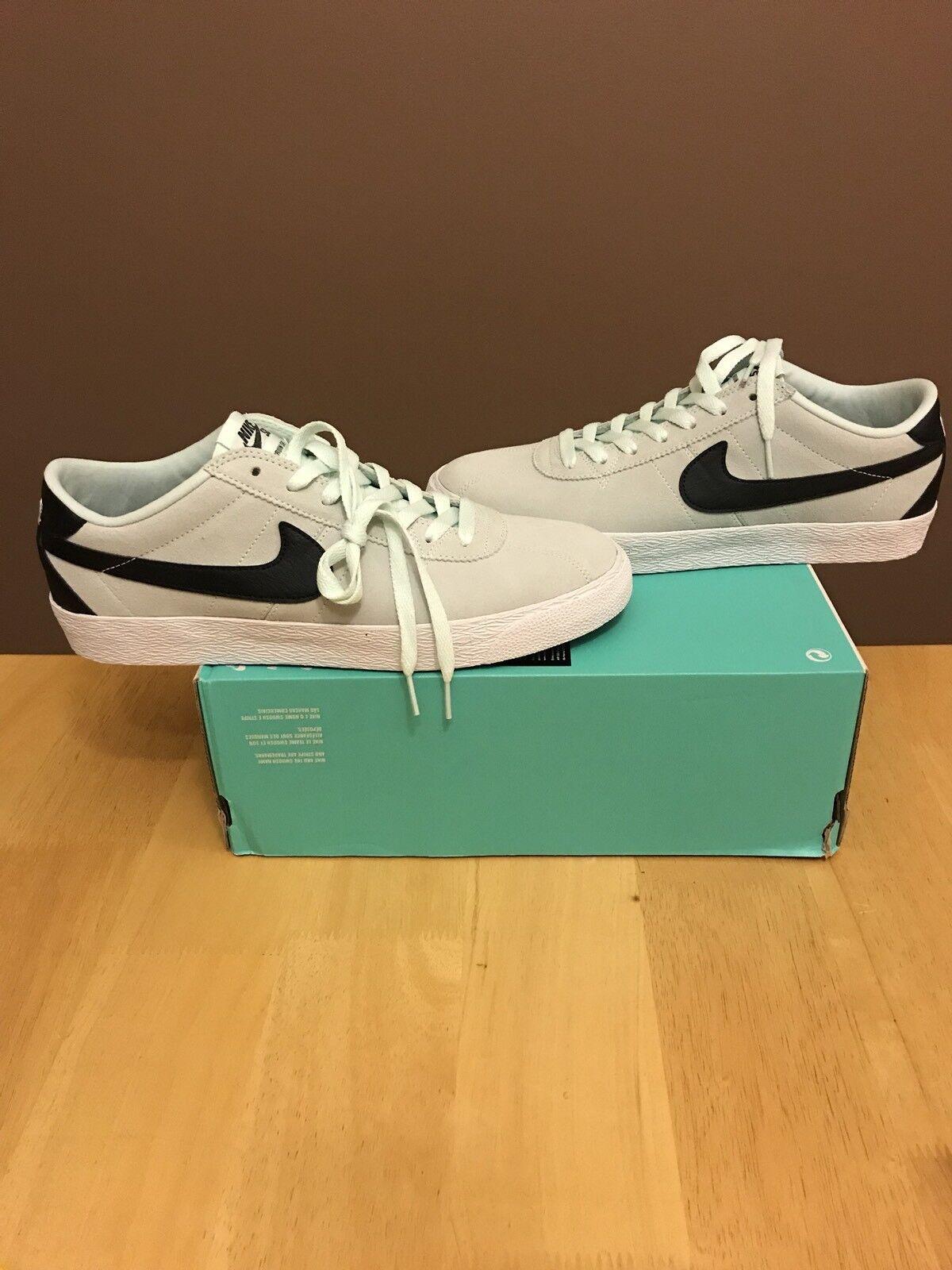 b9946d2f0800 Nike SB Bruin Zoom PRM PRM PRM SE Mint Grey Black Size 10.5 Rare ...