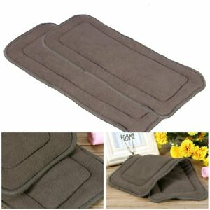 Washable-5Layers-Bamboo-Charcoal-Cloth-Nappy-Super-Absorbent-Adult-Diaper-Insert