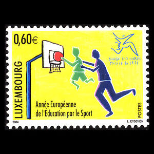 Luxembourg-2004-European-Year-of-Education-Through-Sport-Sports-Sc-1141-MNH