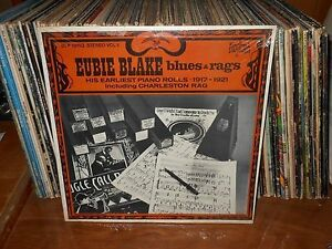 EUBIE-BLAKE-BLUES-amp-RAGS-Lp-Record-Still-Sealed-Unopened-Mint-Lp-and-Jacket