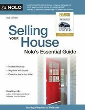 Selling Your House : Nolo's Essential Guide by Ilona Bray (2017, Paperback)