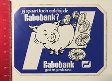 Aufkleber/Sticker: Rabobank - Gelden Goede Raad (04061665)