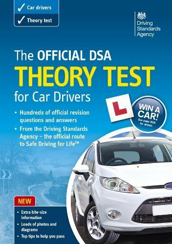 1 of 1 - The Official DSA Theory Test for Car Drivers Book 2013 edition,Driving Standard