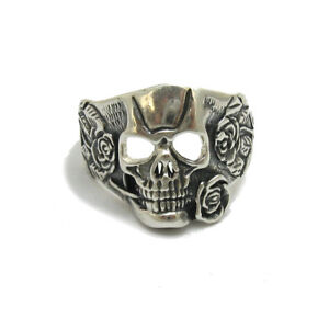 Sterling Silver Pendant Genuine Solid 925 Skull Perfect Quality Empress