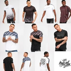 Mens-Designer-Kings-Will-Dream-KWD-King-Short-Sleeve-T-Shirt-Gym-Top-Fashion-Tee