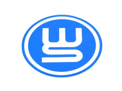Véritable nouvelle Renault WS Bleu decal autocollant emblème MEGANE /& clio mk3 world series
