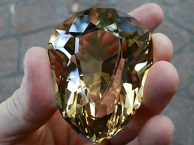 Rare huge natural Golden Citrine Collector or Museum gem...786 Carats!