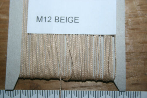oxella Filetage 25 M Bonded Nylon-TISSUS D/'AMEUBLEMENT//CUIR//Industrial M12 Oxley