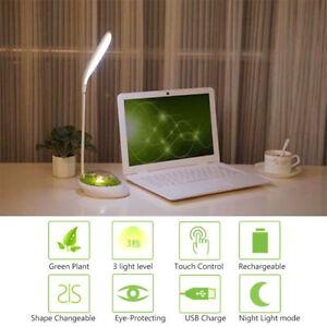 Detecteur-Tactile-Lampe-de-Table-Lecture-Bureau-LED-Chevet-Veilleuse-USB-Bureau